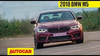 2018 BMW M5 | Exclusive India Drive | Autocar India