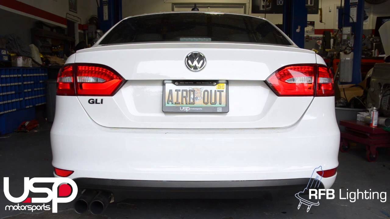 VW Jetta / GLI LED Tail Light Features - RFB Lighting ...