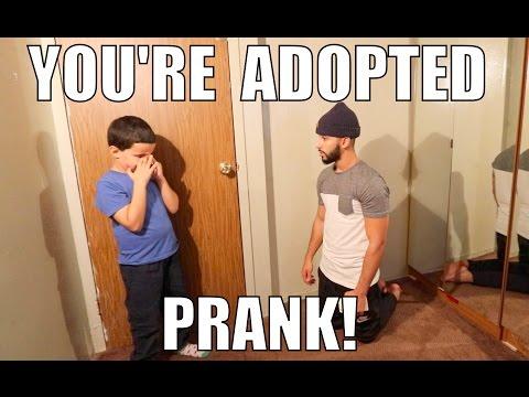 HILARIOUS YOU'RE ADOPTED PRANK!!!