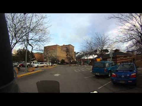 Downtown Missoula Montana in ** HD **