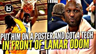 Poster SO NASTY He Got A Tech While Lamar Odom Watched & Approved!!