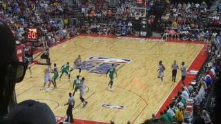 NBA Summer League [UNLV Las Vegas 2017] Lakers vs Celtics