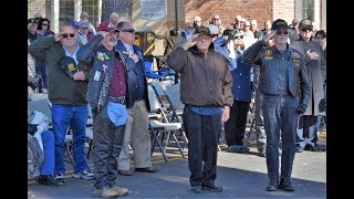 Hawkins County Veterans Day Ceremony, 11 10 18