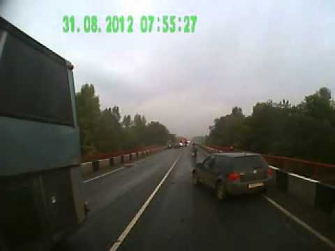 ДТП на трассе Краснокамского района 31 августа 2012г.