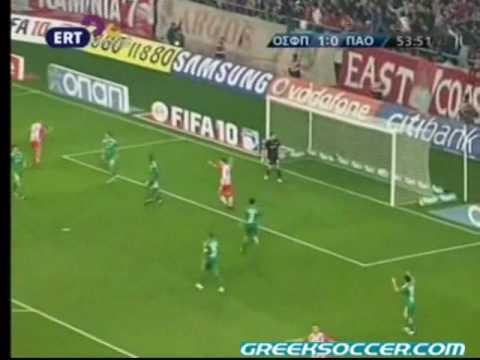 Matchday 12: Olympiakos 2-0 Panathinaikos (Mitroglou 45' 54')
