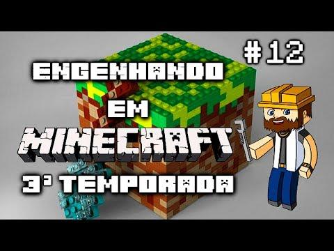 Engenhando em #Minecraft 3ª Temporada - Ep 12 Sistema Logístico Básico 02 #CreeperTroll
