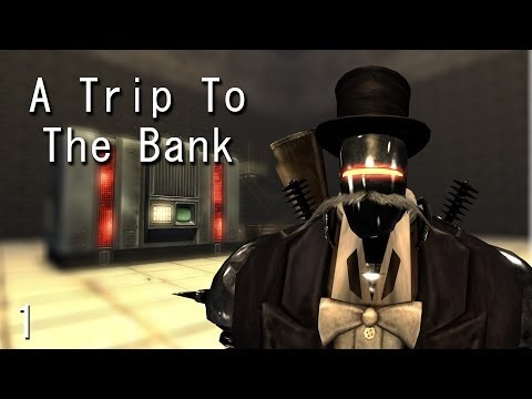 Fallout New Vegas Mods: A Trip to The Bank - Part 1