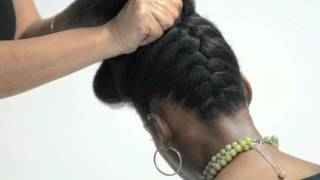Pump It Up Pin Up- Natural Hair Tutorial by Natural Resources Salon
