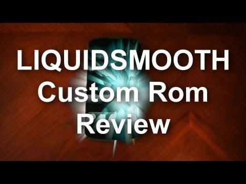 Nexus 4 - Liquidsmooth - Custom Rom  - Review