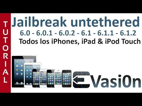Jailbreak Untethered de 6.0 a 6.1.3 con cydia (todos los iphone - ipad - ipod touch) - Evasi0n 1.4