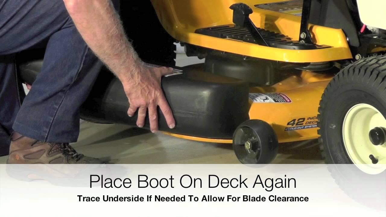 Peco Universal Boot Installation Youtube