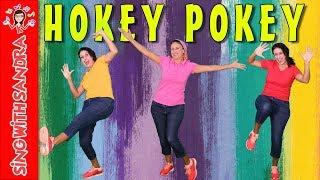 Hokey Pokey   Children Songs   Nursery Rhymes   Music For Kids   Songs For Kids   Sing With Sandra