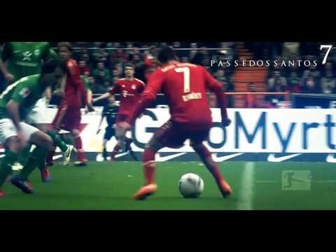 Franck Ribery - Bayerns Genius 2007-2012 HD