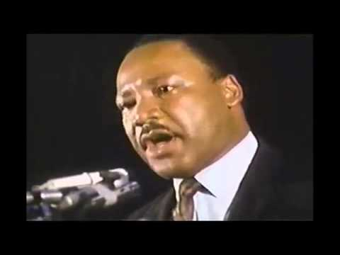Martin Luther King Jr    I've Been To The Mountaintop Last Speech; Assassinated Next Day video
