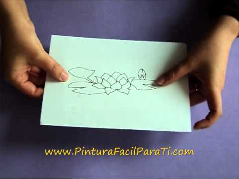 Transferir Patrones en Foami Goma Eva / Foamy Rubber Eva Transfer - Pintura Facil
