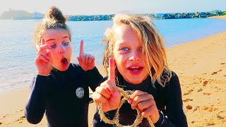 BEACH GAMES Extreme Kids Challenge w/The Norris Nuts