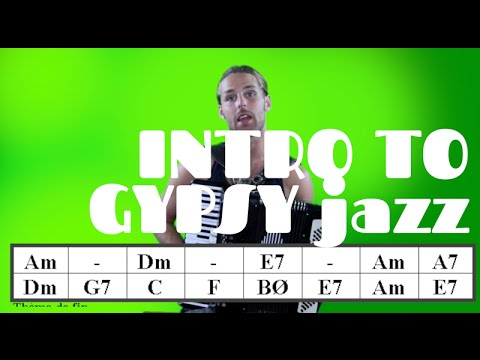 Minor Swing And An Intro To Gypsy Jazz - How To Play The Accordion