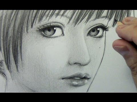 "How to Draw a ""Realistic"" Manga Face [pt. 1: Line Placement]"
