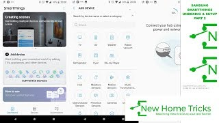 01. Samsung Smartthings Unboxing and Setup Part 2