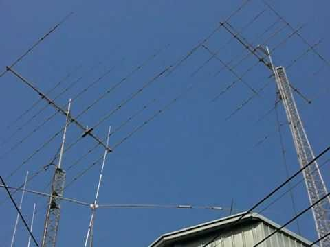 BX5AA TAIWAN Ham Shack Antenna 2010