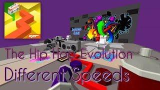 Dancing Line - The Hip Hop Evolution (Different Speeds)