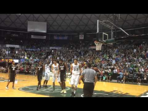 Hawaii Men's Basketball Defeats Colorado, Diamond Head Classic 12-25-14