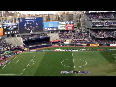 Chelsea VS Manchester City at Yankee Stadium New York City May 25th 2013