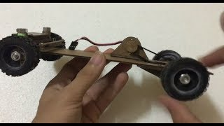 How to make remote control car at home RC Truck 4x4