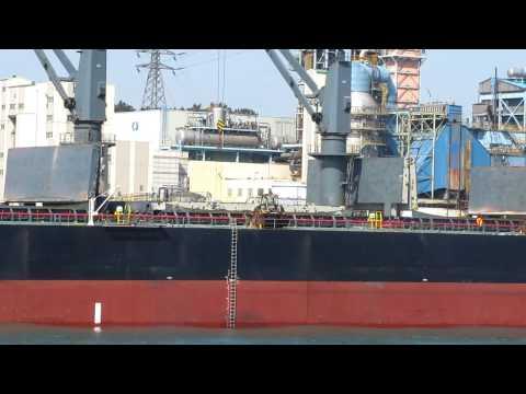 Hyundai Heavy Industry Shipyard in Ulsan