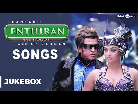 Superstar Rajinikanth Birthday Special : Enthiran Songs | Aishwarya Rai | A.R. Rahman | Shankar
