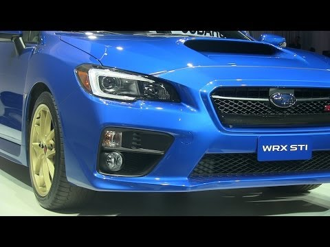 Watch the 2015 Subaru WRX STI Debut at the Detroit Auto Show