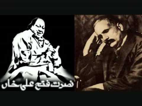 Nusrat fateh ali khan-Kabhi Ae Haqeeqat-allama iqbal poetry