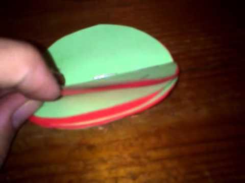 Jak zrobić plaster miodu z papieru