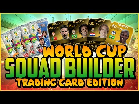 WORLD CUP CARDS SQUAD BUILDER! w/ AWESOME INFORMS!   FIFA 14 Ultimate Team