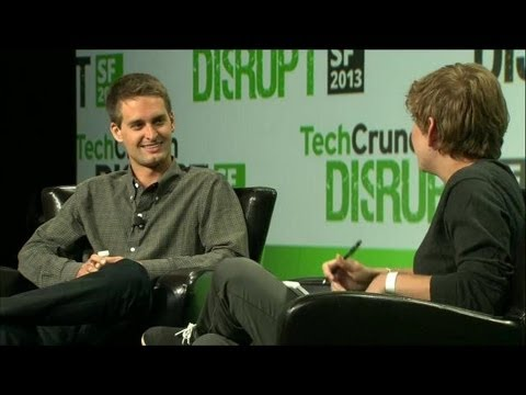Evan spiegel public speaking appearances for Spiegel young money