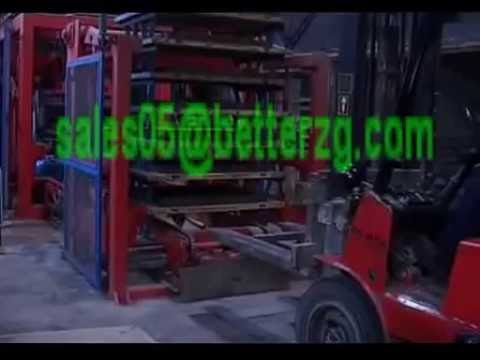 concrete bricks working video from Selena of Henan Better Heavy Industry Co.,Ltd in China
