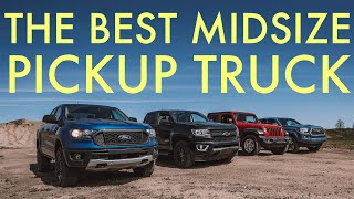 The Best Midsize Pickup: Ranger vs Gladiator vs Tacoma vs Colorado