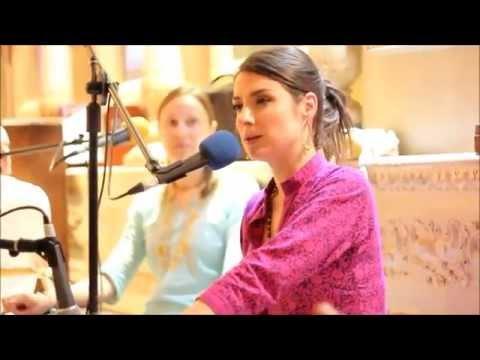 Hare Krishna Maha Mantra sung by HG Chakrini Mataji