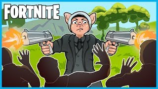 JOHN WICK DEAGLE DESTRUCTION in Fortnite: Battle Royale! (Fortnite SOLOS LIVE w/ I AM WILDCAT!)