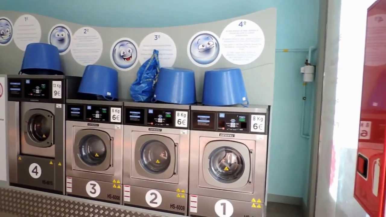 como funciona la lavander a autoservicio en barcelona