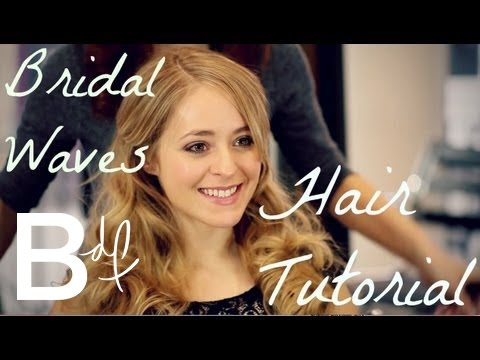 Bridal Waves - Wedding Hair Tutorial