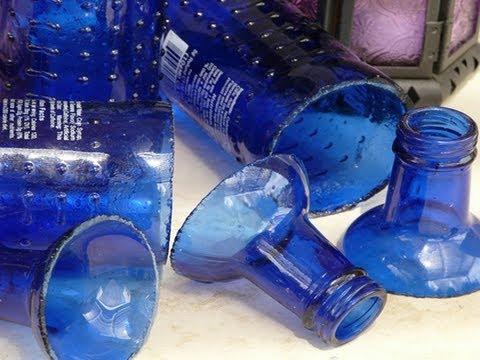 How to Cut Glass Bottles - Como Cortar Garrafa de Vidro