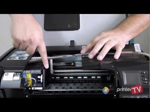 Instalação Bulk Ink HP Officejet Pro 8100