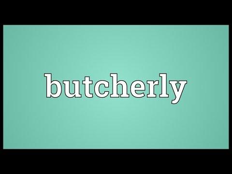 Header of butcherly