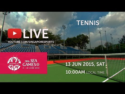 Tennis (Day 8) | 28th SEA Games Singapore 2015