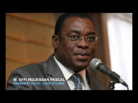 INRI RADIO  JacquesRogerShow   DR MOUKETOU RECOIT MR AFFI NGUESSAN FPI    COTE D'IVOIRE  DIM 03 NOVE