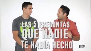 1. #Las5PreguntasQueNadieTeHabíaHecho: Daniel Corral