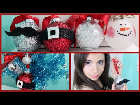 How To Make Diy Christmas Ornaments Youtube