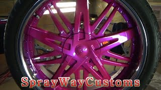 How To Paint Chrome Rims Outrageous / 2001 Cadillac Deville - Part 3