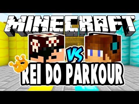 Fenom Vs Authentic! - REI DO PARKOUR: Minecraft + Desafio